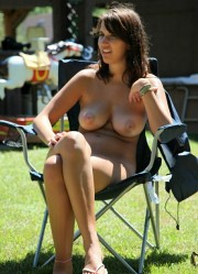 Barbecue Grilling Time [Nudist Holiday]