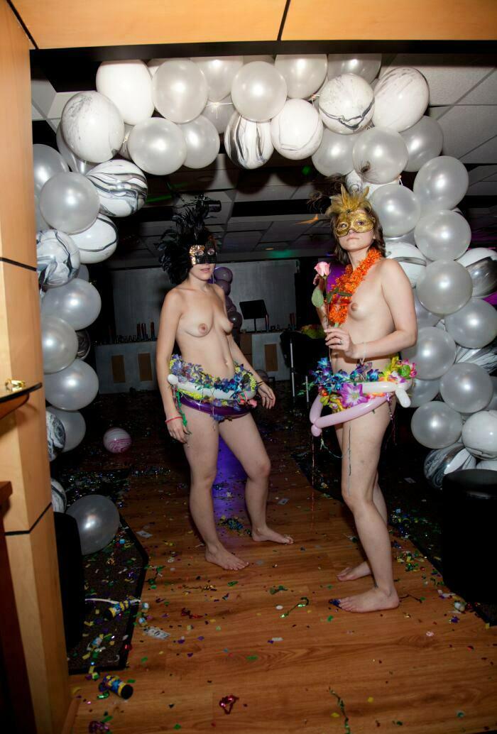 Nudist Pictures-Masquerade Entrance Arc13