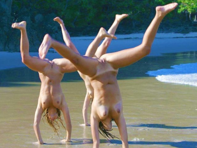 Funny moments of Naturists Life – private nudists photo